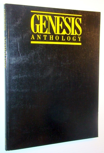Genesis Anthology Songbook With Sheet Music For Piano And