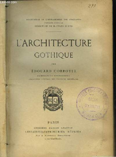 Architecture marelibri for Architecture gothique