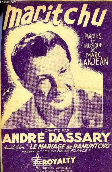 André Dassary - Maritchu / Ferme Tes Yeux