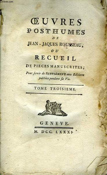 "rousseau confessions essay Jean-jacques rousseau essay 1335 words | 6 pages jean-jacques rousseau ""i was born to a family whose morals distinguished them from the people"" (josephson 9) jean-jacques rousseau was born in geneva, switzerland on june 28, 1712."